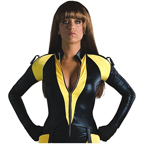 [GSG Silk Spectre Wig The Watchmen Hero Halloween Dress Costume Accessory] (The Watchmen Silk Spectre Costume)