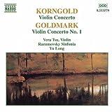 コルンゴルト:ヴァイオリン協奏曲/ゴルトマルク:ヴァイオリン協奏曲第1番