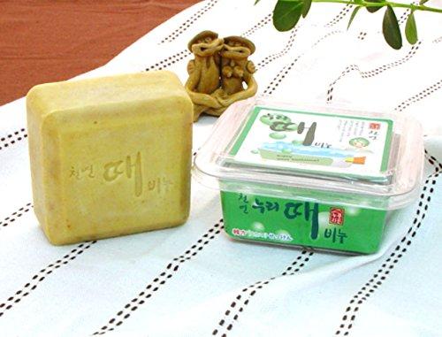 アカスリ石鹸にアカスリタオルサービス