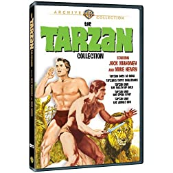 The Tarzan Collection Starring Jock Mahoney & Mike Henry (5 Discs)