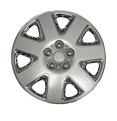 CCI IWCB8823-16CS 16 Inch Clip On Chrome Finish Hubcaps - Pack of 4