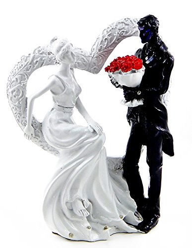 I Just Call to Say I Love You - Wedding Couple Embracing Statue Figurine