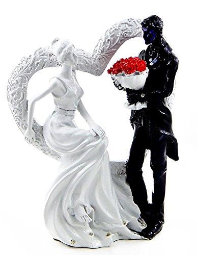 I Just Call to Say I Love You - Wedding Couple Embracing Statue Figurine