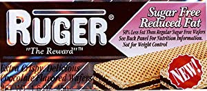 Ruger Sugar Free Reduced Fat 0 Trans Fat 16 Oz Chocolate Wafers