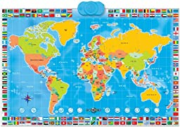 Zanzoon Map World - Interactive Talking World Map