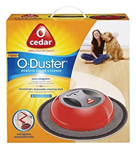 o cedar 140746 o duster robotic floor cleaner pack of 4 health personal care. Black Bedroom Furniture Sets. Home Design Ideas