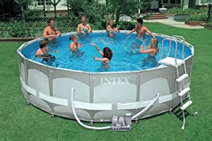 Intex Ultra Frame Round Pool Set (Discontinued by Manufacturer)