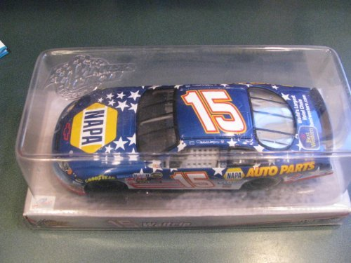 2005 Michael Waltrip #15 NAPA With Stars & Stripes 1/24 Scale Winners Circle
