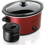 5 Qt. Slow Cooker Red