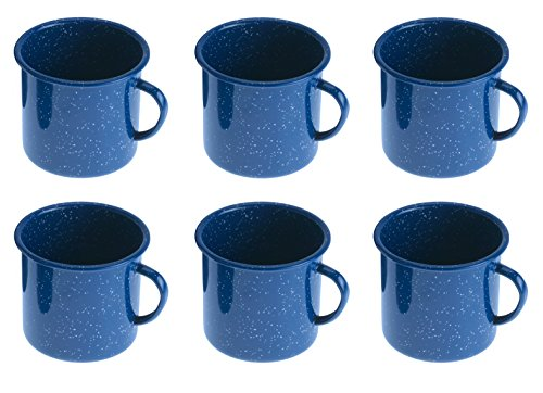 GSI-Outdoors-Cup-Set-of-6-12-Ounce-Blue