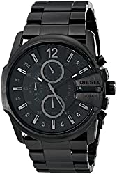 Diesel Analog Black Dial Mens Watch - DZ4180