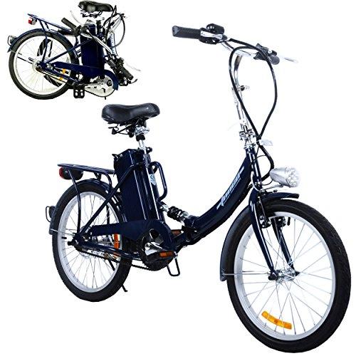 TOOCO Elektro Klapprad 20″ (51cm) Pedelec Elektrofahrrad Ebike E-Bike Fahrrad