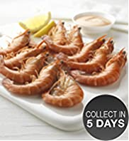 10 Large Madagascan Tiger Prawns