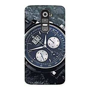 Ajay Enterprises Wo Wrist Watch one Back Case Cover for LG G2