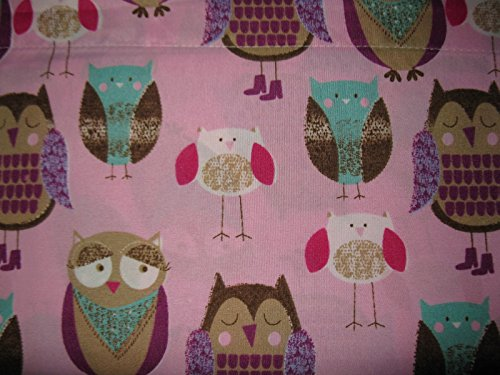 Lily's Room Pink Owl 3-piece Sheet Set-Twin