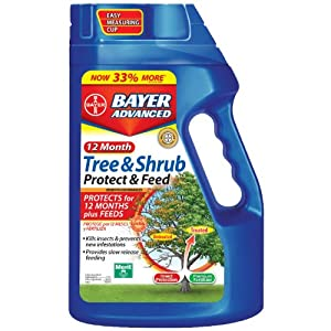 Bayer Advanced 12-Month Tree & Shrub - Protect & Feed Granules (Discontinued by Manufacturer)