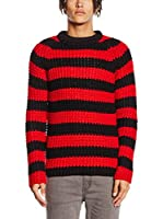 Cheap Monday Jersey (Rojo / Negro)