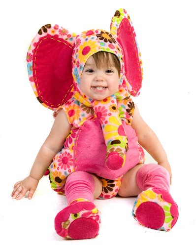 Princess Paradise Pink Baby Girl Elephant Cute Infant Toddler Halloween Costume