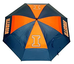 Illinois Fightin Illini Umbrella from Team Golf by Team Golf