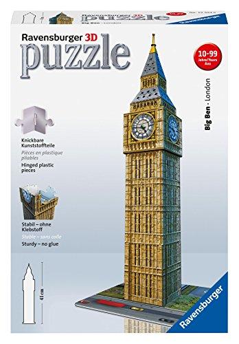 Ravensburger 12554 Big Ben - Puzzle en 3D (216 piezas)