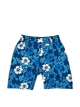 Playshoes Short de Baño Hawaii (Azul)