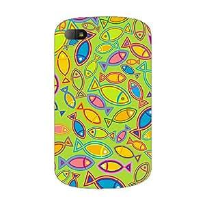 Garmor Designer Plastic Back Cover For BlackBerry Q10