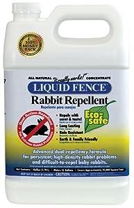 Liquid Fence Rabbit Repellent, 1-Gallon Concentrate