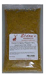 Eldon's Sausage and Jerky Supply Sweet and Spicy Pepper Stick Seasoning, 0.53 Pound from Eldon's Sausage and Jerky Supply
