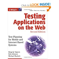 Testing Applications on the Web: Test Planning for Mobile and Internet-Based Systems