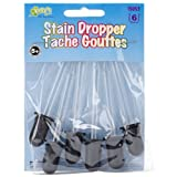 Kellys Crafts: Glass Stain Droppers, Pack of 6