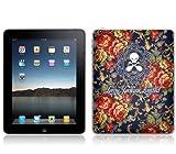 MusicSkins  iPad 用液晶保護フィルム  Leroy Jenkins - Skull Flowers  iPad  MSIPAD0666
