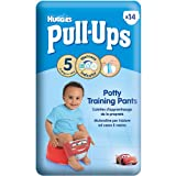 Huggies Pull Ups Potty Training Pants Boys Size 5 -Pack of 14-Disney Cars Design