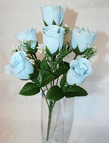 7-head-light-blue-rose-buds-with-gyp-artificial-silk-flowers