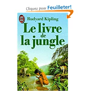 le livre de la jungle rudyard kipling livres. Black Bedroom Furniture Sets. Home Design Ideas