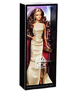 Amazon.com: Barbie The Look Red Carpet Black Label Collector: Gold