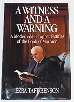 the Book of Mormon: Ezra Taft Benson: 9780875791531: Amazon.com: Books