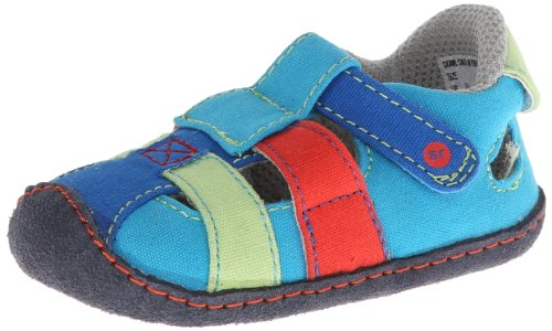 Stride Rite Crawl Catch Of The Day Sandal (Infant/Toddler),Multi,4 M Us Toddler front-755998