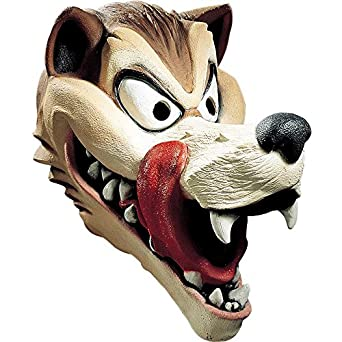 Hungry Wolf Latex Deluxe Mask Adult Accessory