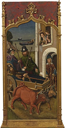 Oil Painting 'Bernat Martin Embarque En Jafa Del Cuerpo De Santiago El Mayor 1480 90' 20 x 39 inch / 51 x 100 cm , on High Definition HD canvas prints is for Gifts And Dining Room, Foyer And G decor (Nissan Rouge Air Filter compare prices)