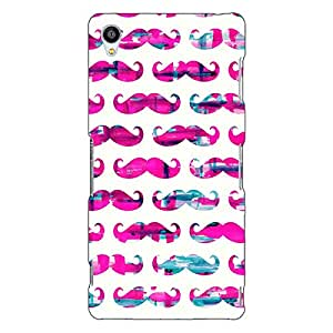 Jugaaduu Mustache Back Cover Case For Sony Xperia Z3