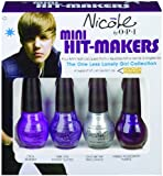 Nicole By Opi Justin Bieber Mini Hit Makers, 1/8-Fluid Ounce Set of 4