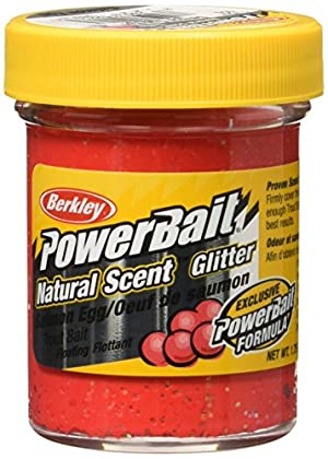 PowerBait FW Natural Salmon Egg Scent Glitter Trout Fishing Bait