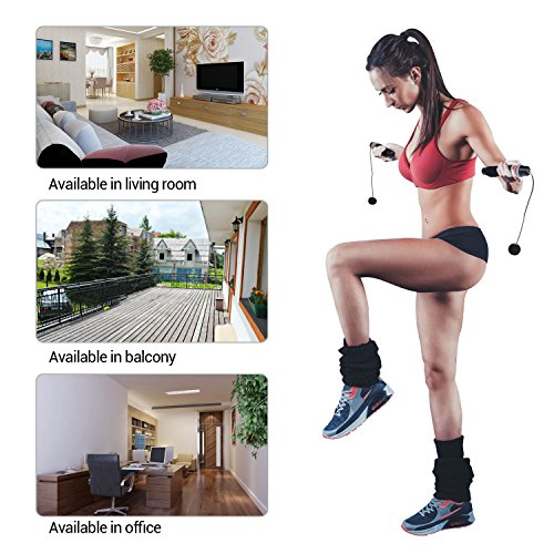 Turata Jump Rope Jump Rope Fitness No Hurt Tangle Free for Crossfit Workout Endurance Training Boxing MMA