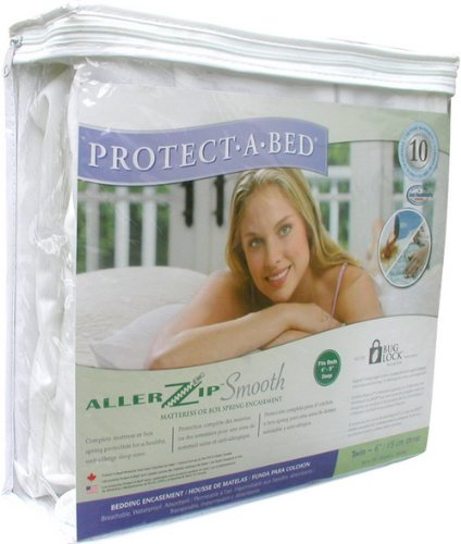 PROTECT-A-BED Bed Bug Proof Mattress Encasement DOUBLE