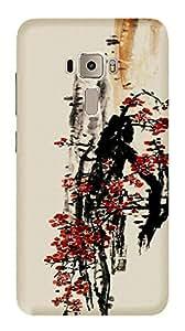 Wow Premium Design Back Cover Case For Asus Zenfone 3