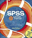 img - for SPSS Survival Manual 2nd edition by Pallant, Julie (2004) Spiral-bound book / textbook / text book