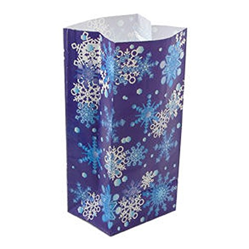Paper Snowflake Goody Bag