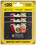 Regal Entertainment  Gift Cards, Multipack of 3 - $10