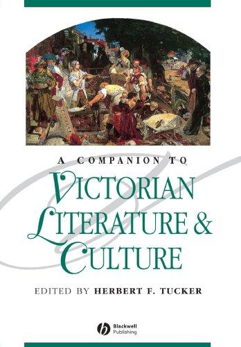 A Companion to Victorian Literature and Culture