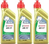 Castrol Racing XR77 2T Engine Oil CAS-2040-7176-3 - 3x1L = 3 Litre